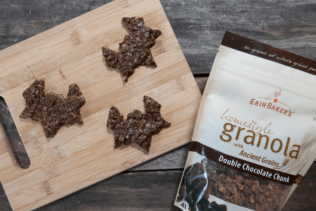 chocolate bat granola krispies