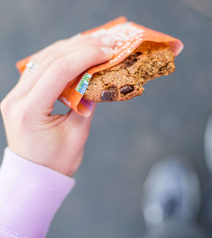 eating a Breakfast Cookie onthego