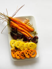 Roasted Halloween Veggies