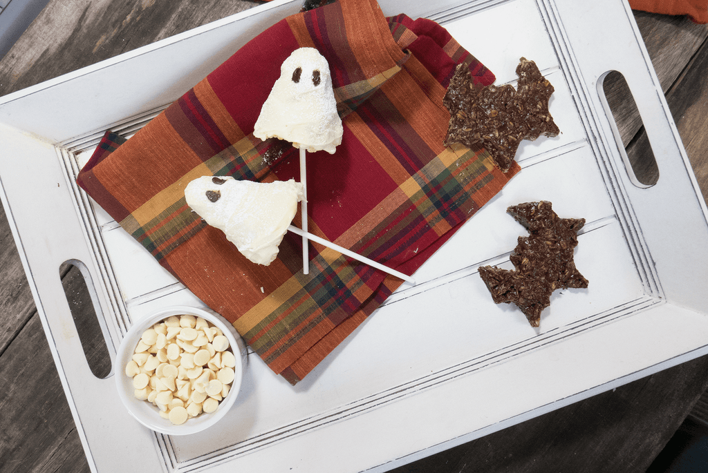 krispie treats ghosts and bats