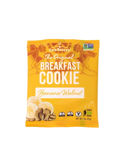 Breakfast Cookie Banana Walnut 12 pack