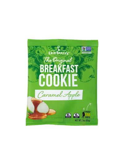 Breakfast Cookie Caramel Apple 12 pack