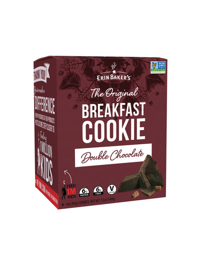 Breakfast Cookie Double Chocolate 4 pack