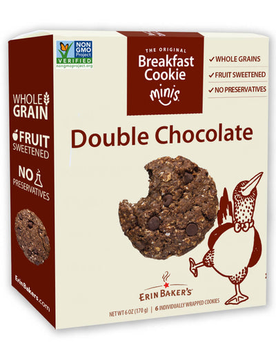 Breakfast Cookie Minis Double Chocolate 6 pack
