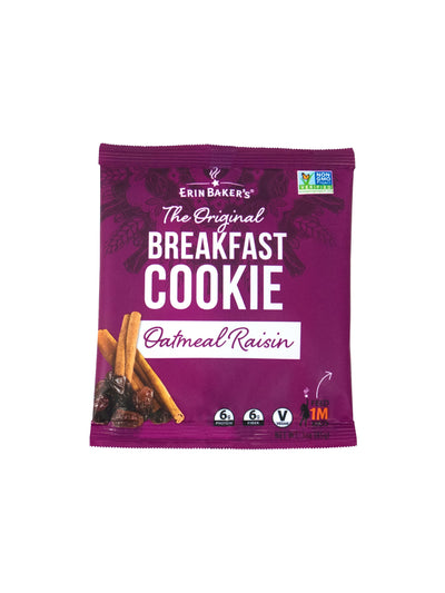 Breakfast Cookie Oatmeal Raisin 12 pack