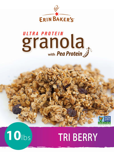 Granola Bulk Tri Berry with pea protein