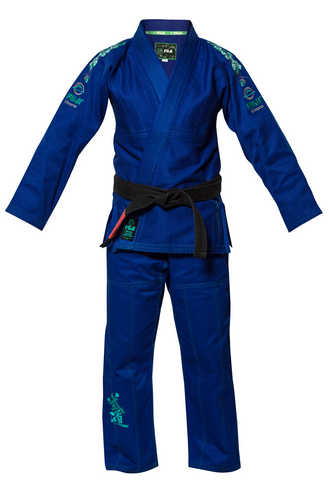 Fuji - Youth Gi Blue Blossom, BJJ Gi (Youth) - BuyGis.com