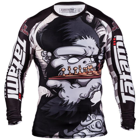 Tatami - Chess Gorilla Rash Guard, Rash Guards (Men) - BuyGis.com