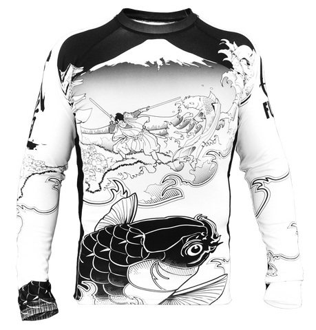 Fuji - Sakana Rashguard, Rash Guards (Men) - BuyGis.com