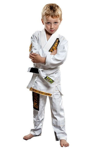 Tatami - Youth Animal Mini BJJ Gi (White), BJJ Gi (Youth) - BuyGis.com