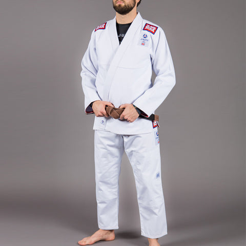Scramble - Athlete V2 (White), BJJ Gi (Mens) - BuyGis.com