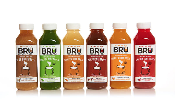 BRU Bone Broth Beverage Launches in 15 Bay Area Whole Foods Markets