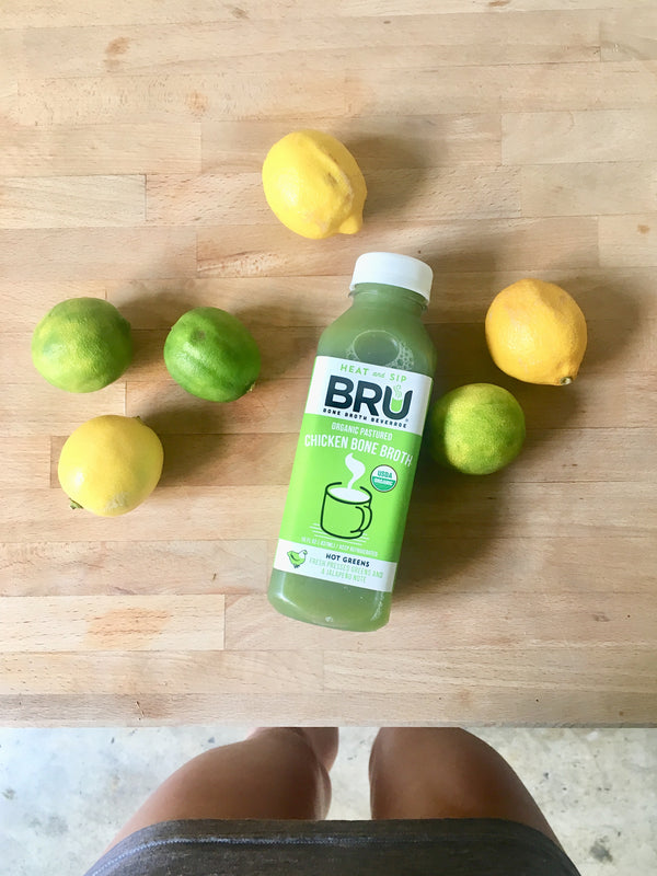 BRU Bone broth RESET cleanse
