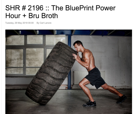 Super Human Radio Network # 2196 :: The BluePrint Power Hour + BRU Broth