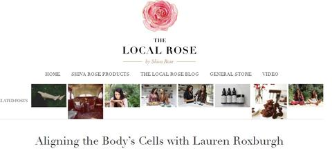 BRU included in Lauren Roxburgh's list of  beauty products & secrets to stay lovely!