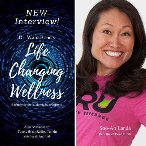 BRU founder Soo-Ah on Life Changing Wellness Radio