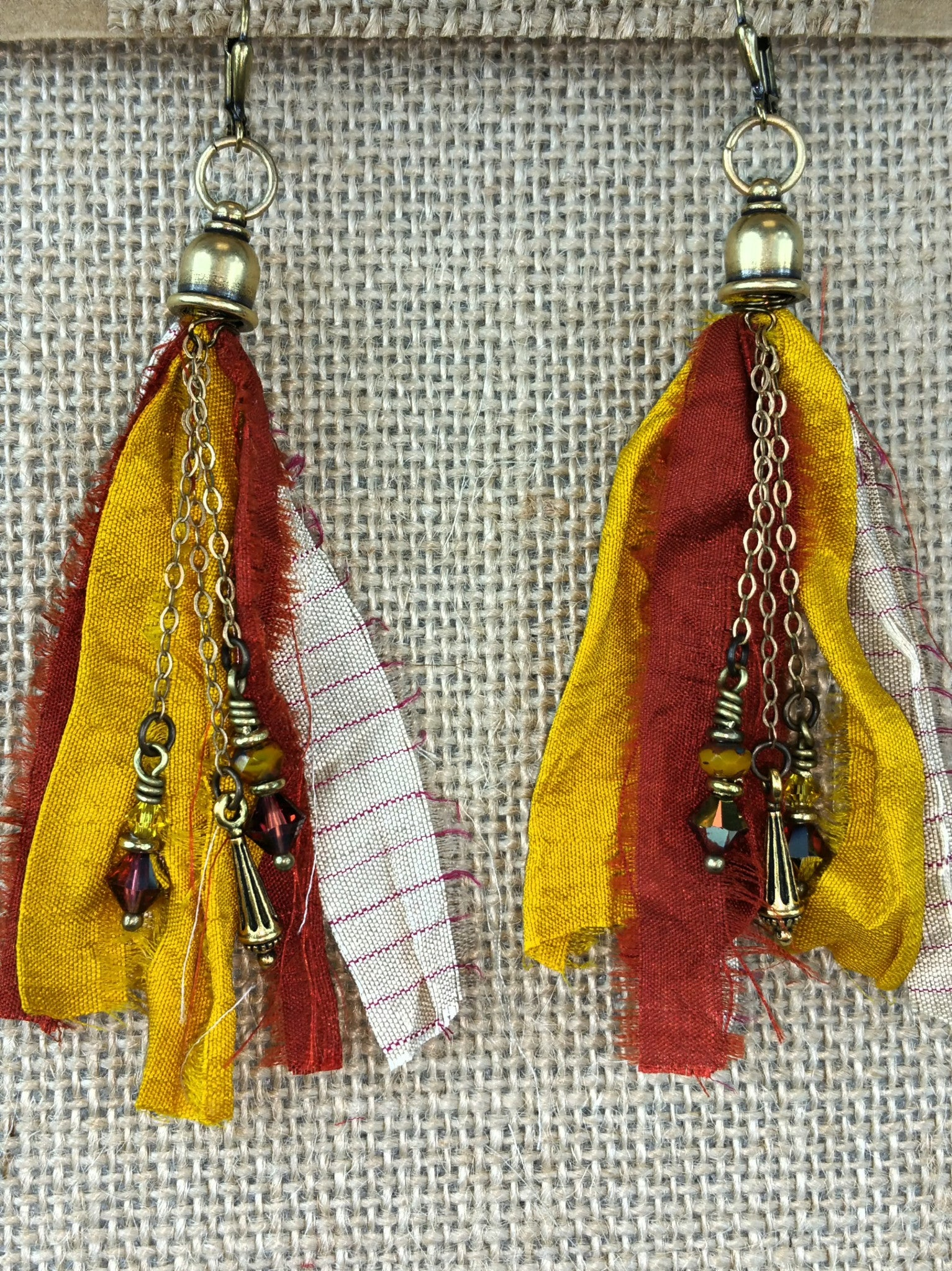 Indian Summer Signature Tassel Earrings