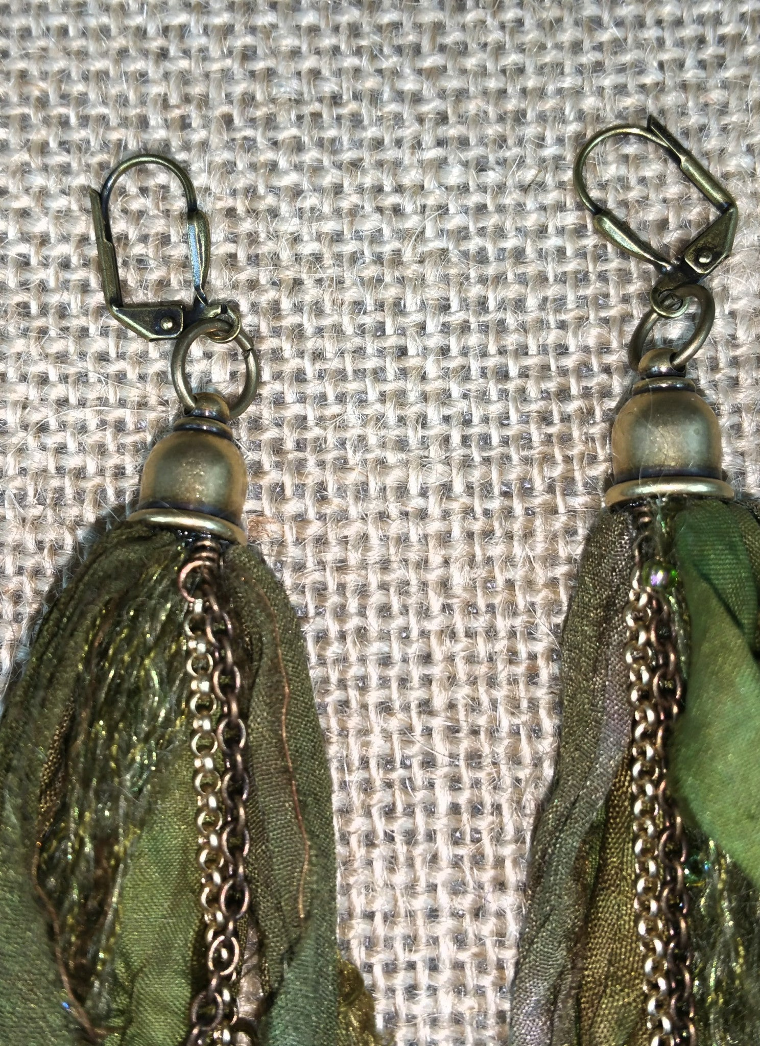 Seaweed Mermaid Signature Tassel Earrings
