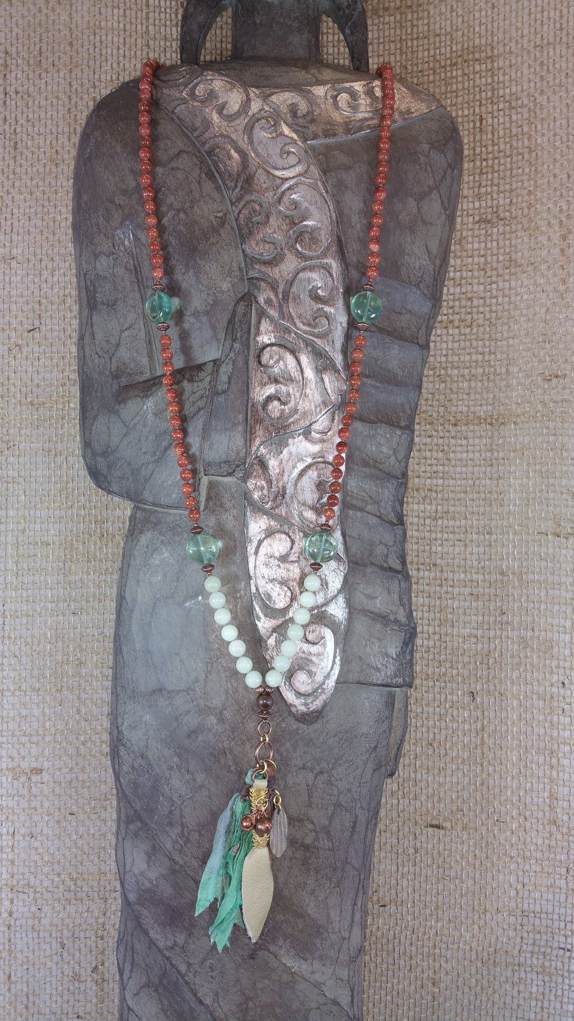 Rags to Riches Cluster Mala