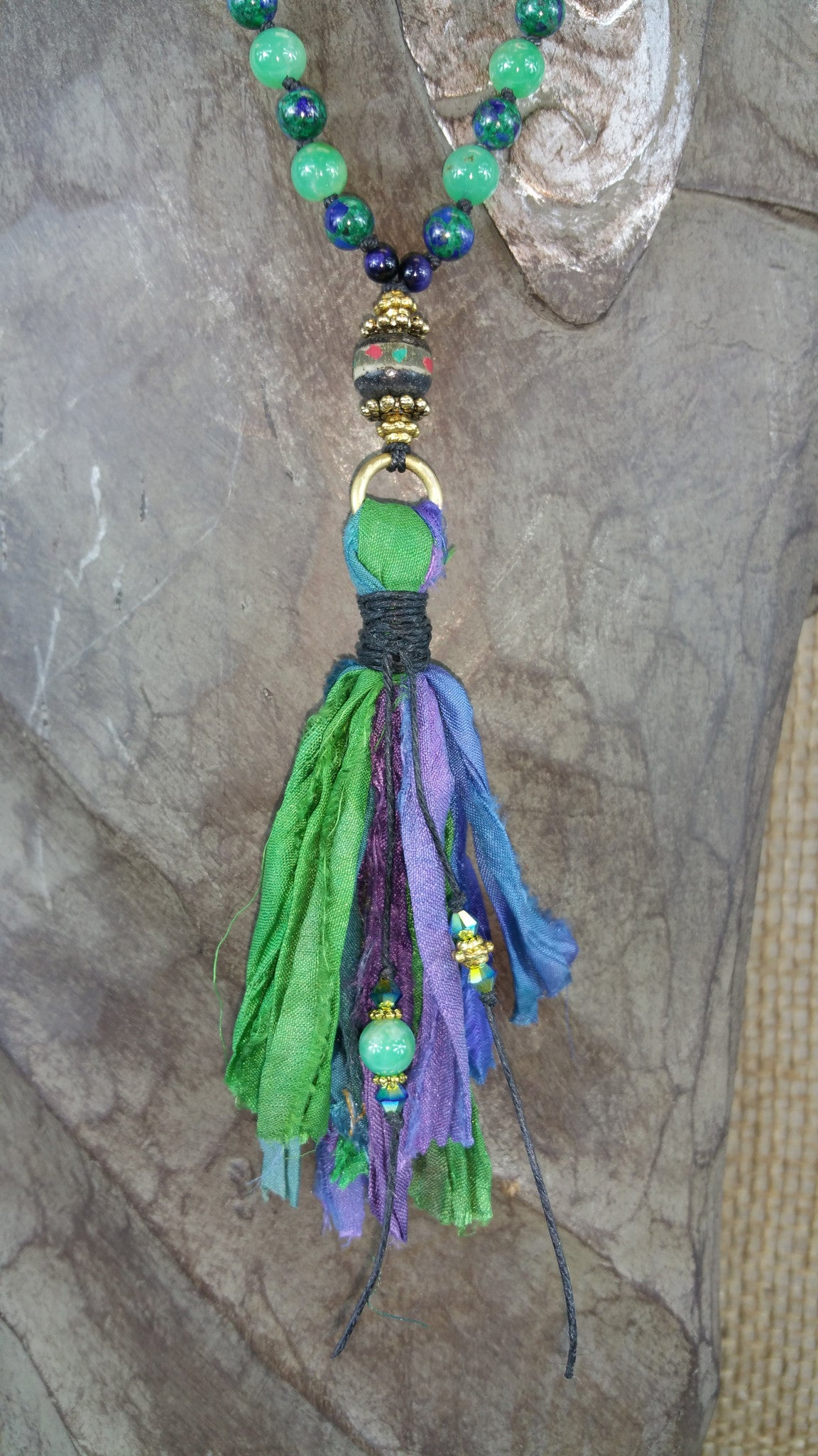 Hope Springs Eternal Beaded Necklace