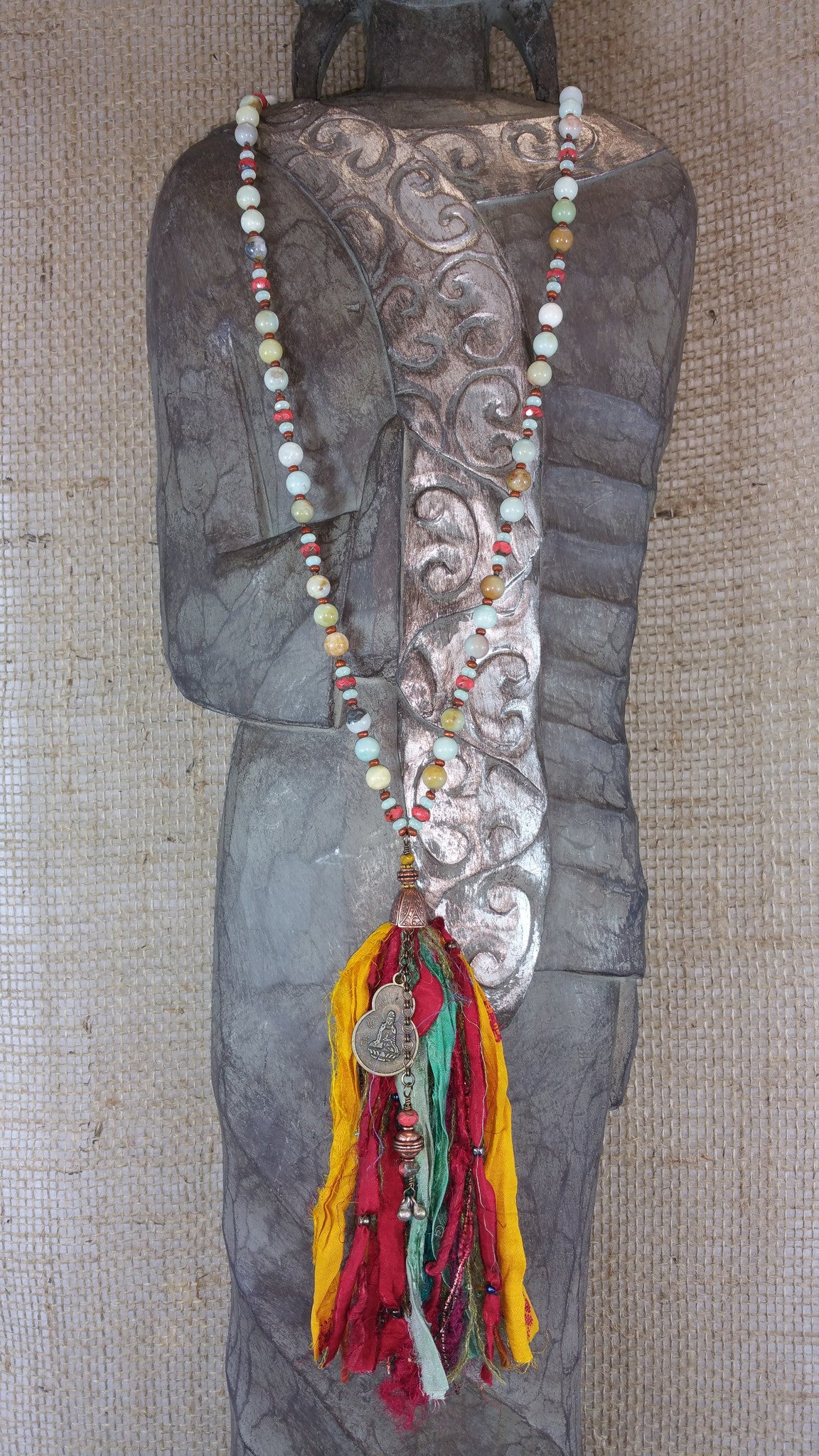 Quan Yin Beaded Necklace