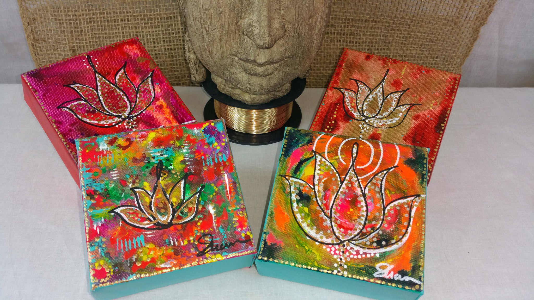 Lotus Series Canvas
