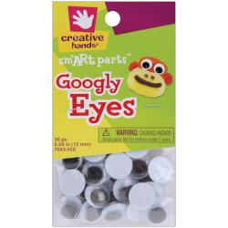 Googly Eyes 15mm 30pc