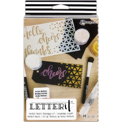RANGER: Letter It Perfect Pearls Technique Kit