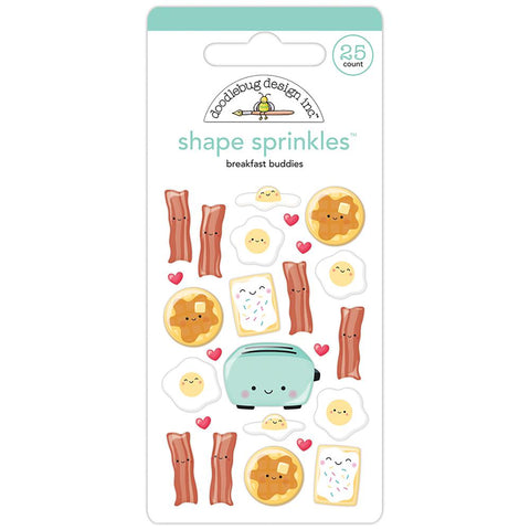 DOODLEBUG DESIGN: Shape Sprinkles (Breakfast Buddies)