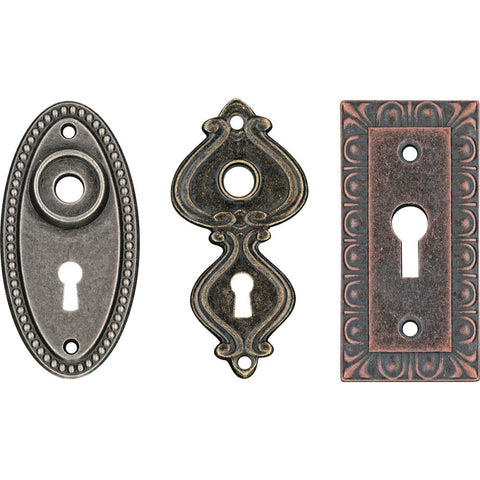 TIM HOLTZ: Idea-ology Large Metal Keyholes 3pk