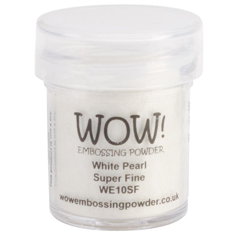 WOW! Embossing Powder | White Pearl | Super Fine