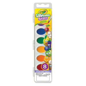 CRAYOLA: Washable Watercolors | Silly Scents | Sweet