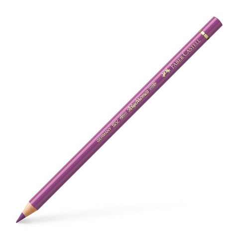 FABER CASTELL: Polychromos Colored Pencil (Light Red-Violet)