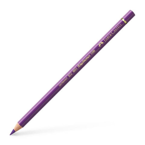 FABER CASTELL: Polychromos Colored Pencil (Manganese Violet)