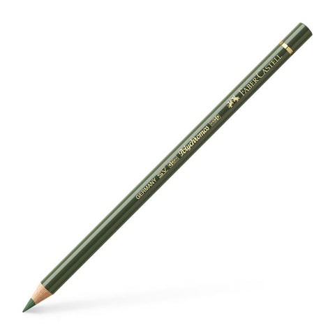 FABER CASTELL: Polychromos Colored Pencil (Chromium Green Opaque)