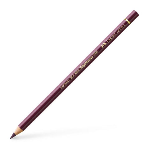 FABER CASTELL: Polychromos Colored Pencil (Red-Violet)