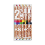 OOLY: Colored Pencils | Two of a Kind | 12 Count