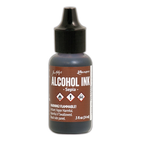 TIM HOLTZ: Alcohol Ink .5oz (Sepia) (ORMD)
