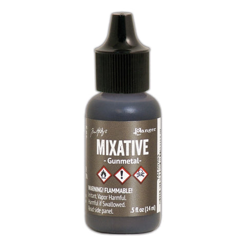 TIM HOLTZ: Alcohol Ink Mixative .5oz (Gunmetal) (ORMD)