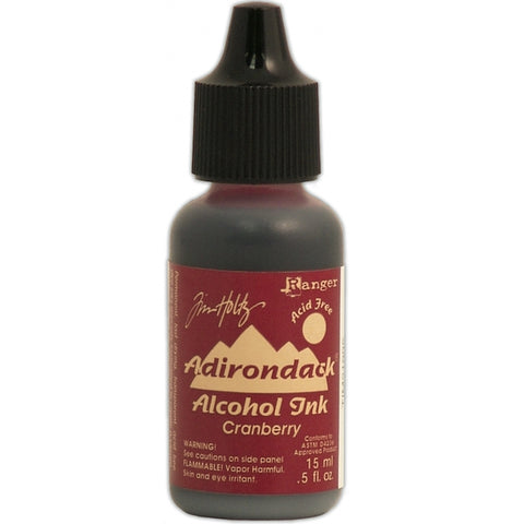 TIM HOLTZ: Alcohol Ink .5oz (Cranberry) (ORMD)
