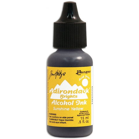 TIM HOLTZ: Alcohol Ink .5oz (Sunshine Yellow) (ORMD)
