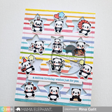 MAMA ELEPHANT: Little Panda Agenda Creative Cuts