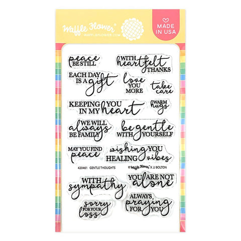 WAFFLE FLOWER: Tender Thoughts | Stamp