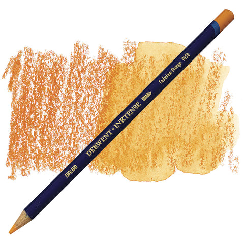 DERWENT: Inktense Pencil (Cadmium Orange 0250)