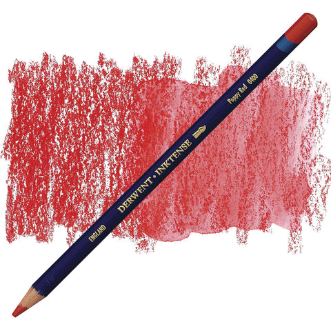 DERWENT: Inktense Pencil (Poppy Red 0400)