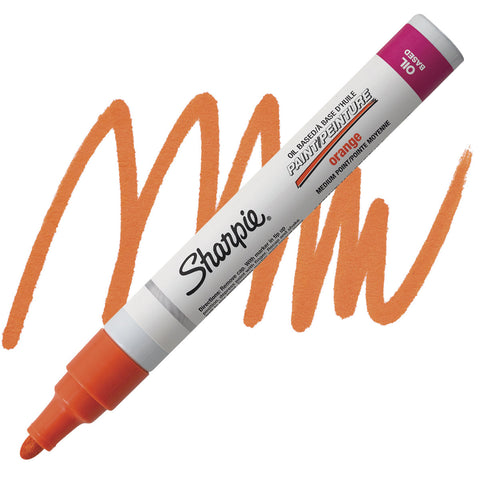 SHARPIE: Medium Point Oil-based Paint Marker (Orange)