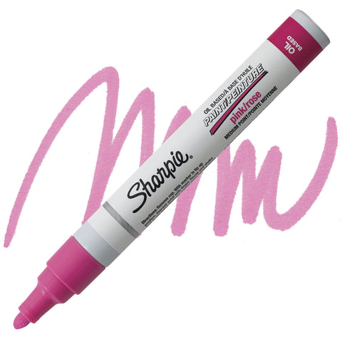 SHARPIE: Medium Point Oil-based Paint Marker (Pink)