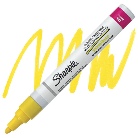 SHARPIE: Medium Point Oil-based Paint Marker (Yellow)