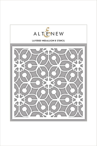 ALTENEW: Stencil - Layered Medallion B