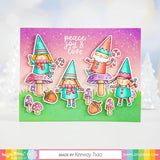 WAFFLE FLOWER: Happy Gnomes | Stamp